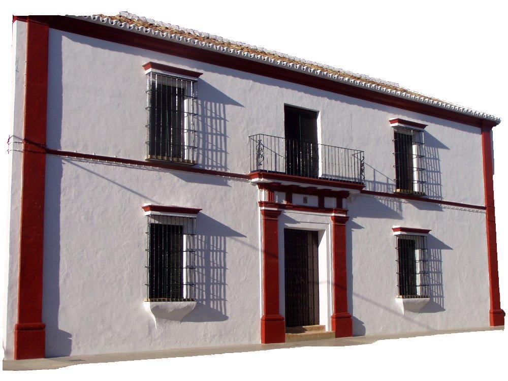Fachada de casa señorial de Villalba del Alcor