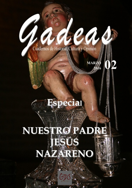 Portada Revista Gadeas nº dedicada al Nazareno de Villalba del Alcor