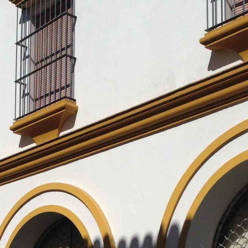 El antiguo ayuntamiento de Villalba del Alcor