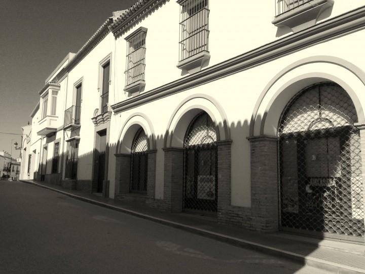 Localización antiguo ayuntamiento de Villalba del Alcor (calle Real)