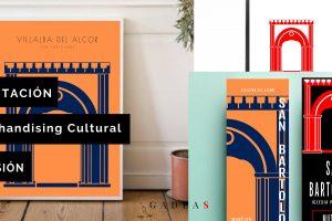 póster y otros productos de merchandising cultural