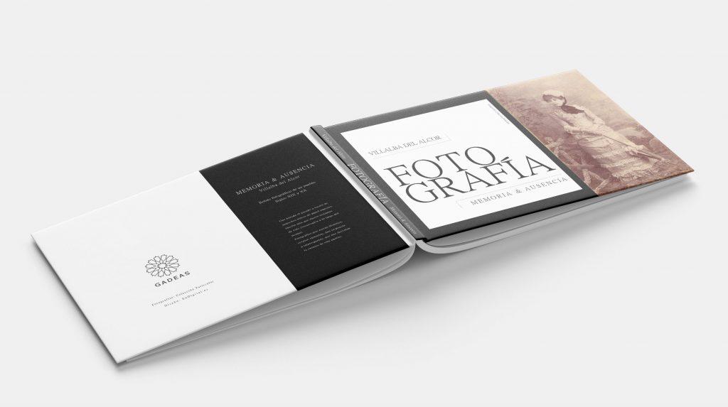 Imagen de portada y contraportada proyecto libro fotografías antiguas de Villalba