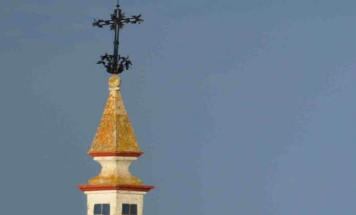 Dos imágenes del convento carmelita de Villalba del Alcor