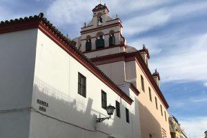 imagen del exterior del convento de santa Ana de Sevilla