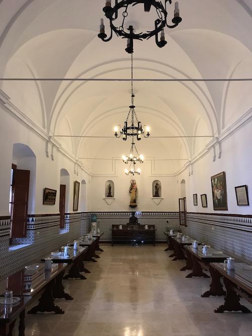 Interior convento carmelita de Villalba del Alcor